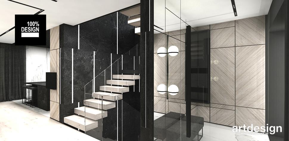 projekt schodów wnętrze domu