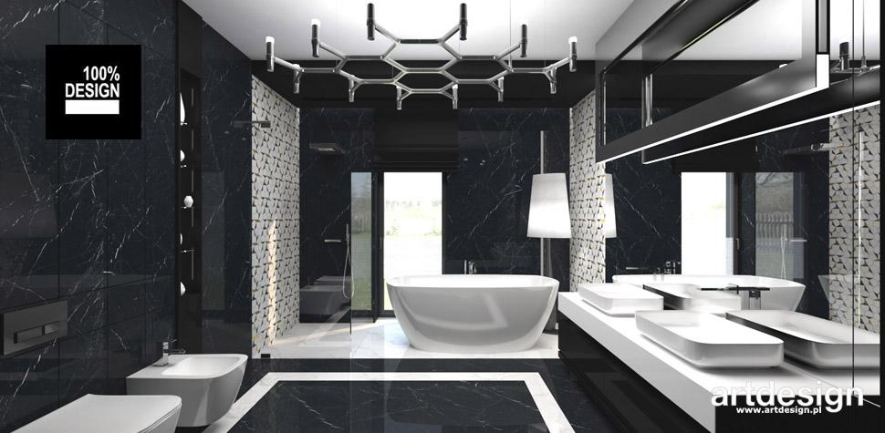 subtelny projekt łazienka