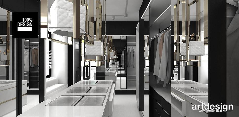 duża garderoba projekt