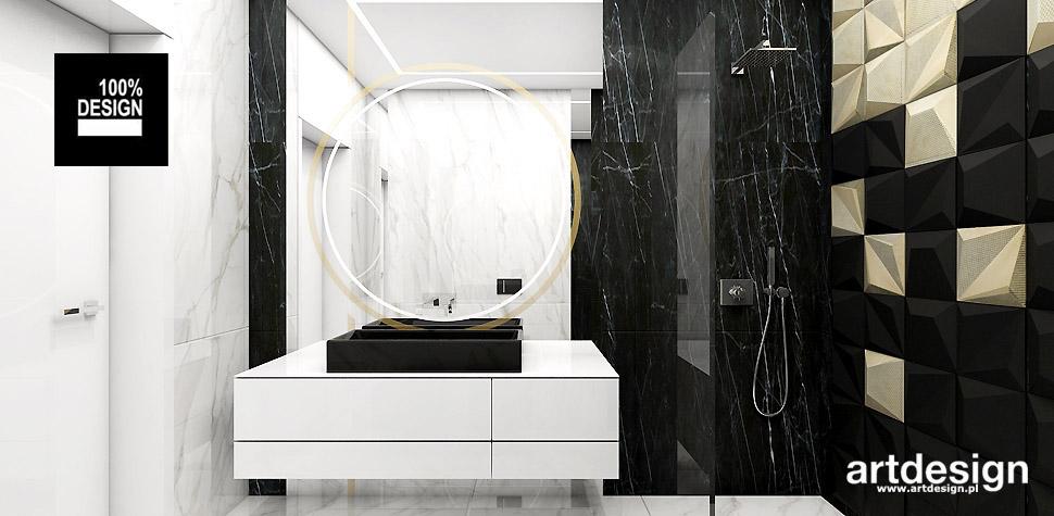 designerska łazienka wnetrza projekty