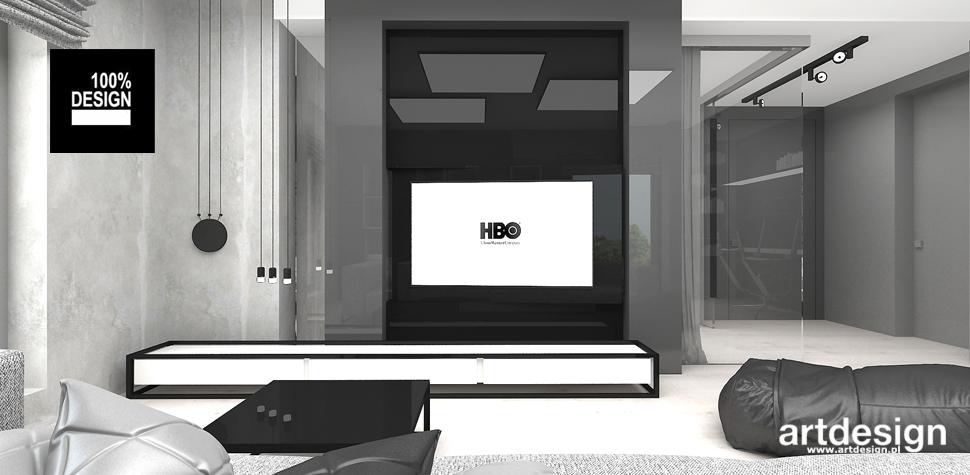 minimalistyczna aranżacja wnętrza