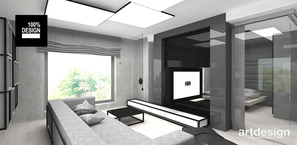 projekt wnętrz w stylu nowoczesnym