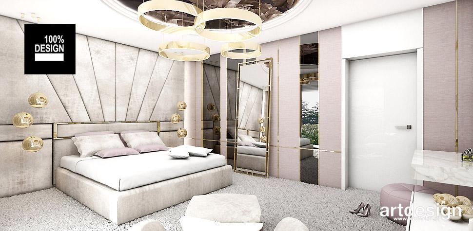 projekty sypialni wnetrza design