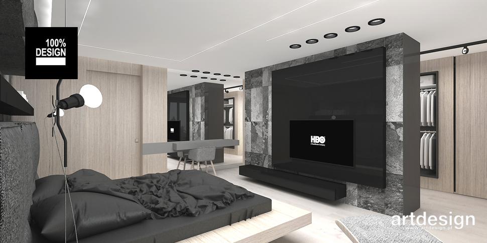 komfortowa sypialnia aranżacja