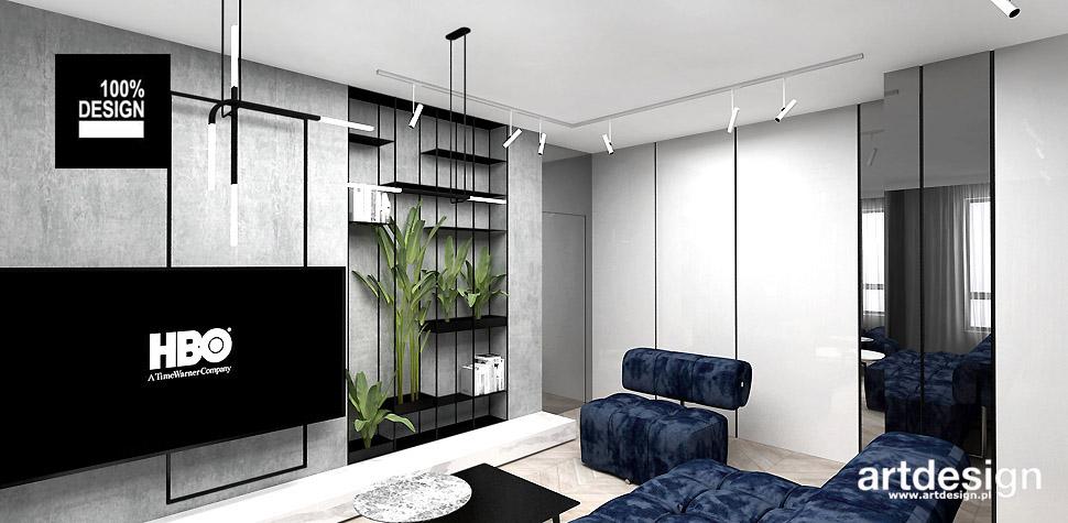 nowoczesne mieszkanie projekt wnetrza