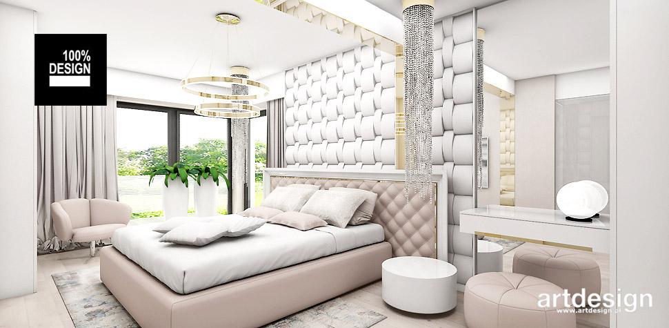 projektowanie sypialni pastelowe kolory