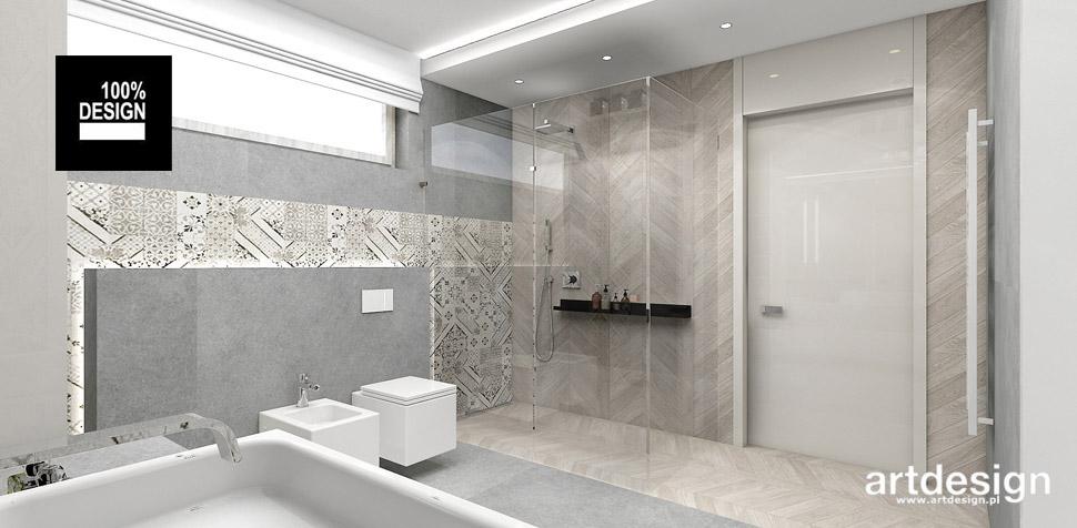 przestronna łazienka wnętrze