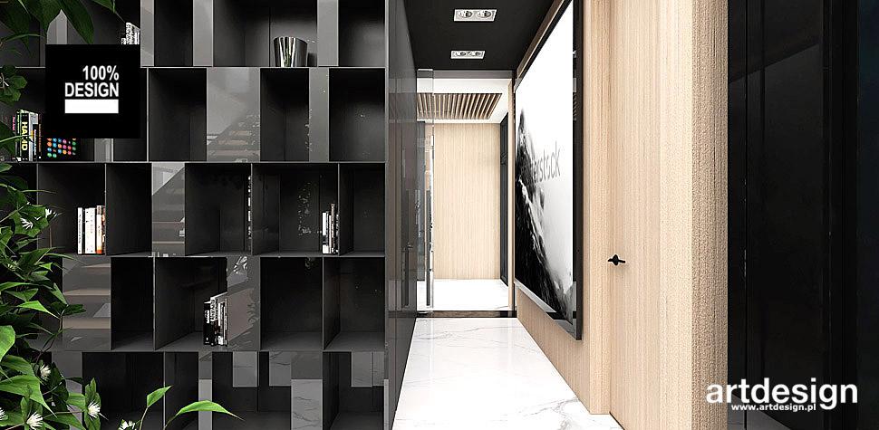 nowoczesny design hol projekt