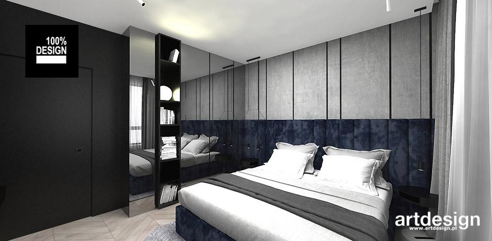 projekt sypialnia wnętrza