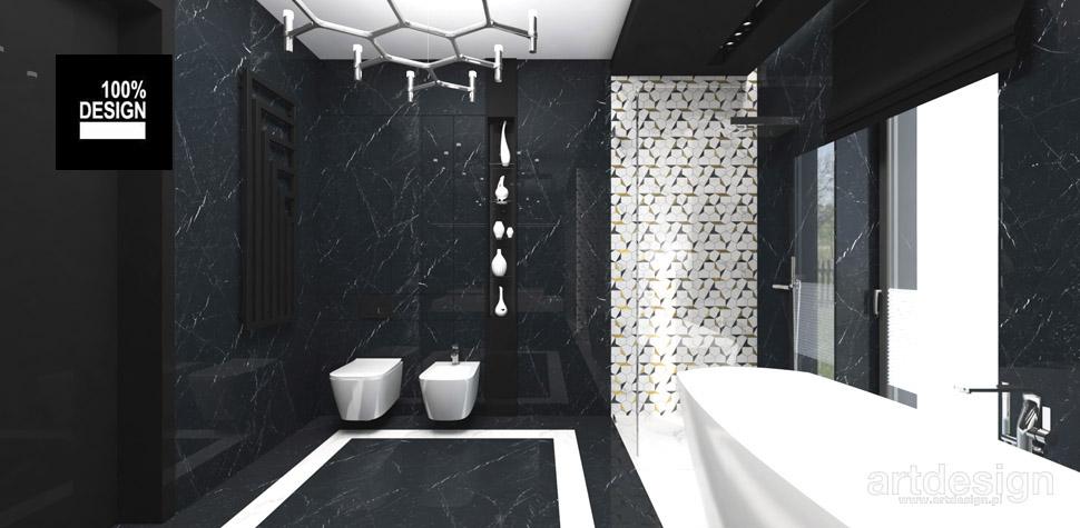 projekty łazienek inspiracje