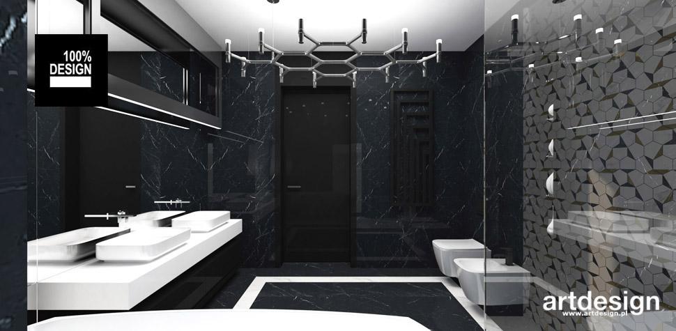 projekt łazienki wnętrza