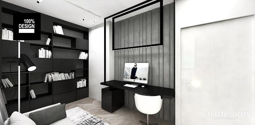 domowe biuro projekt