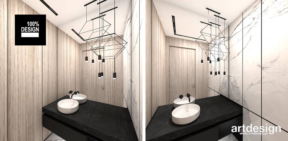 minimalistyczna łazienka projekt
