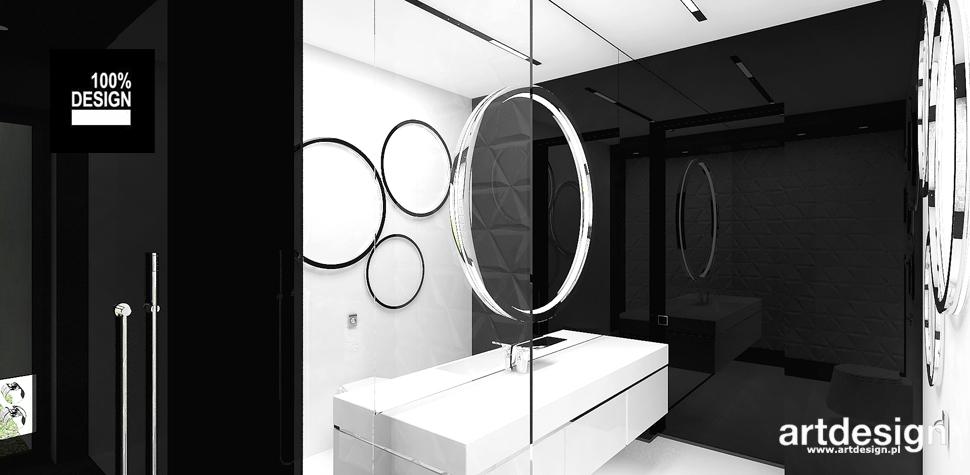 nowoczesna łazienka projekt