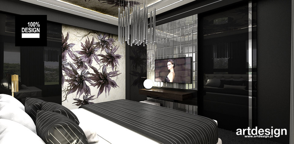 modna sypialnia projekt