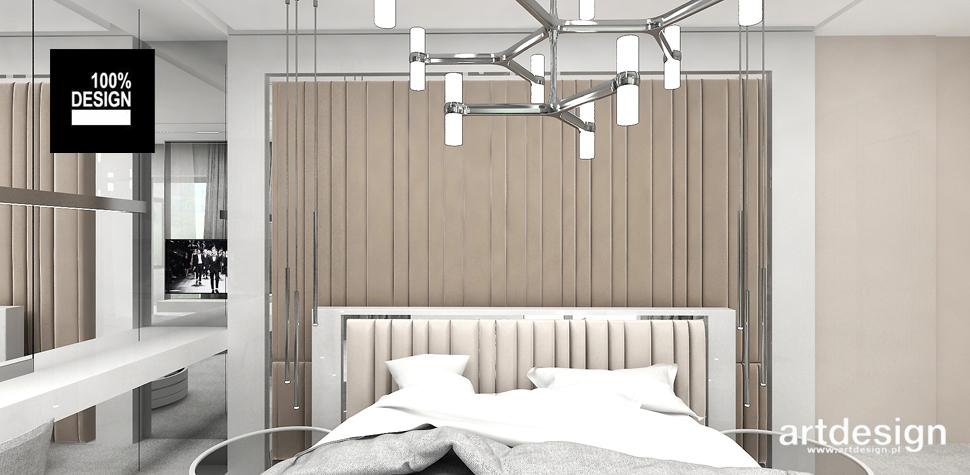 wnętrze sypialni projekt