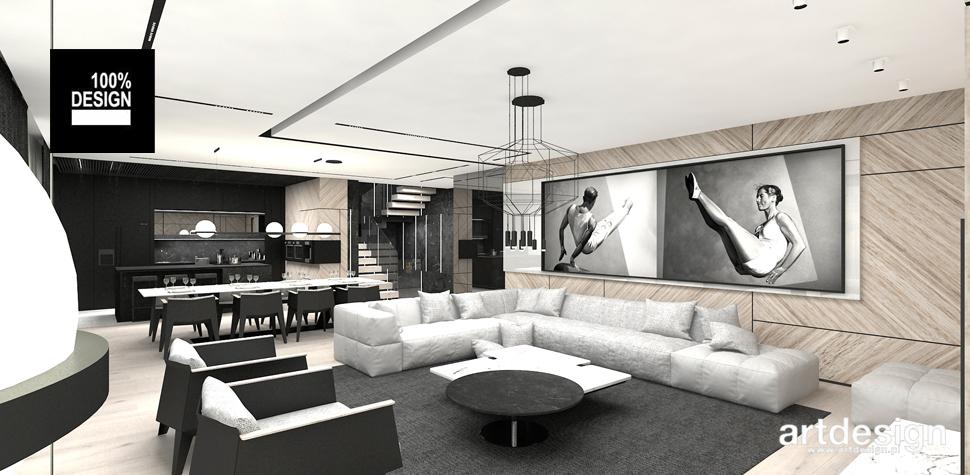 luksusowy salon aranżacja