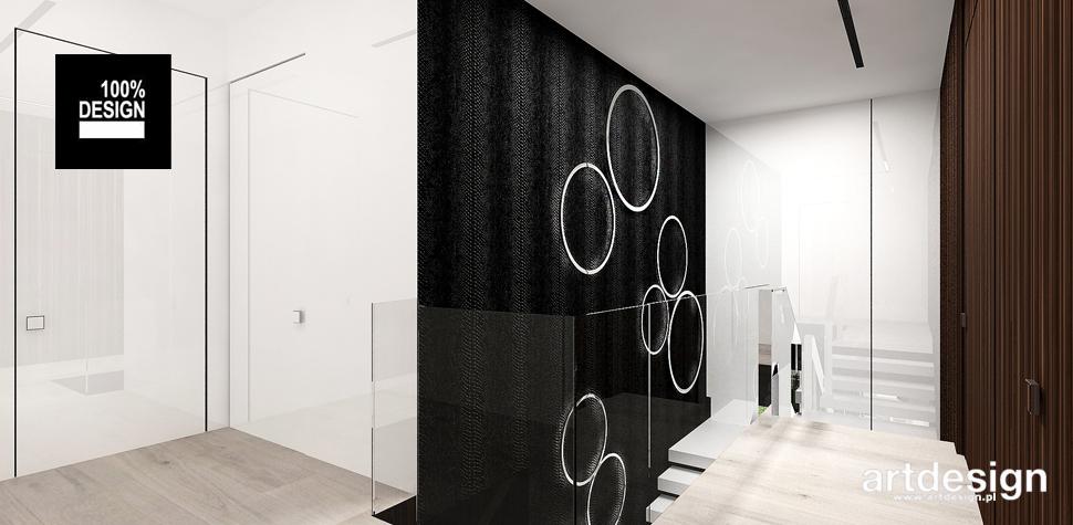 projekt minimalistyczny hol