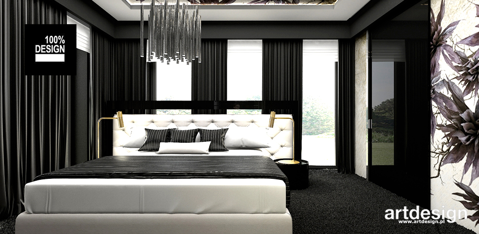 aranżacja sypialni design