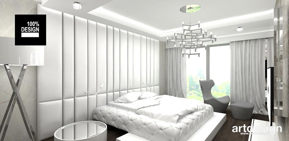 harmonijne wnętrze sypialni