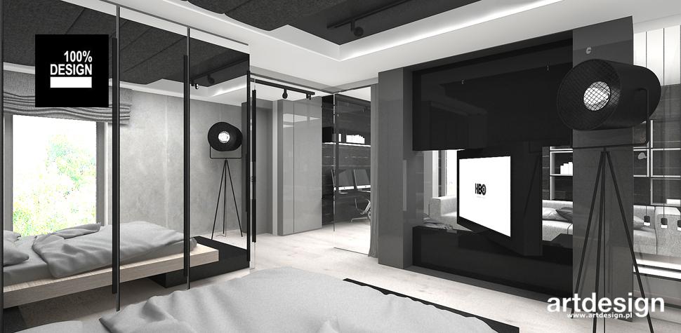 minimalistyczna sypialnia aranżacja