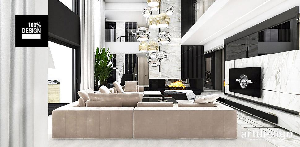 luksusowe wnetrza domów projektowanie