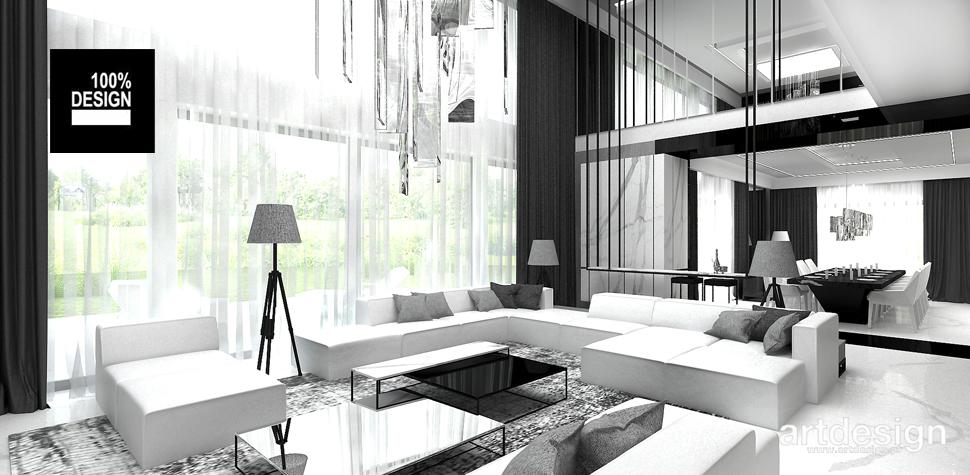 stylowy salon projekt