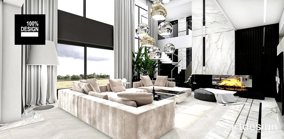 projektowanie wnętrz dużych domów