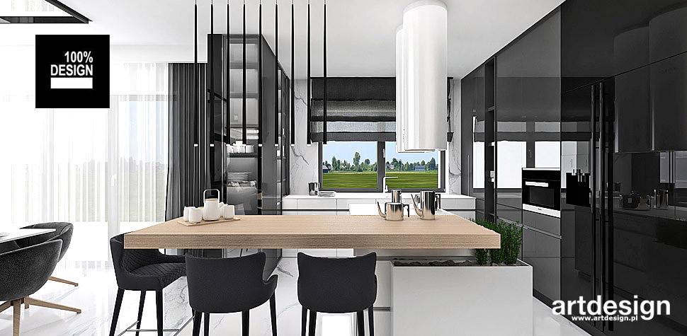 minimalistyczna kuchnia aranżacja