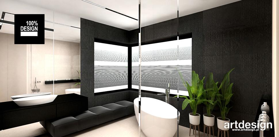 przestronna łazienka projekt