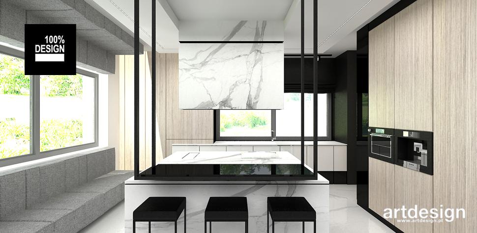 minimalistyczna kuchnia projekt