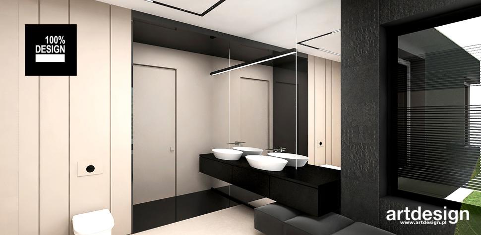 modne wnętrze łazienki