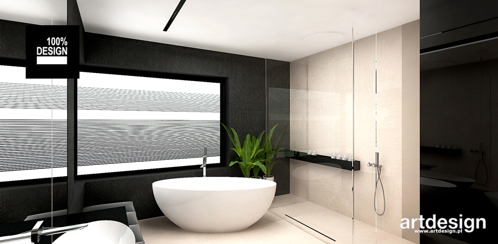 elegancka łazienka projekt