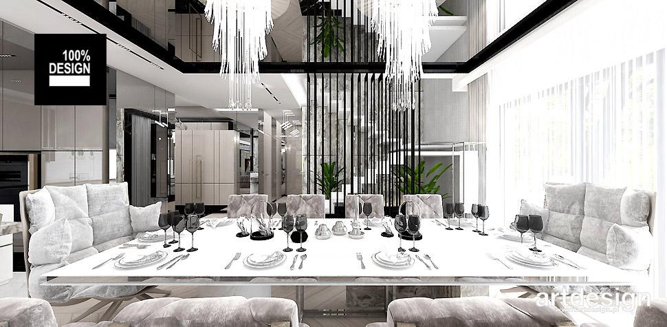 architektura wnętrz dom jadalnia