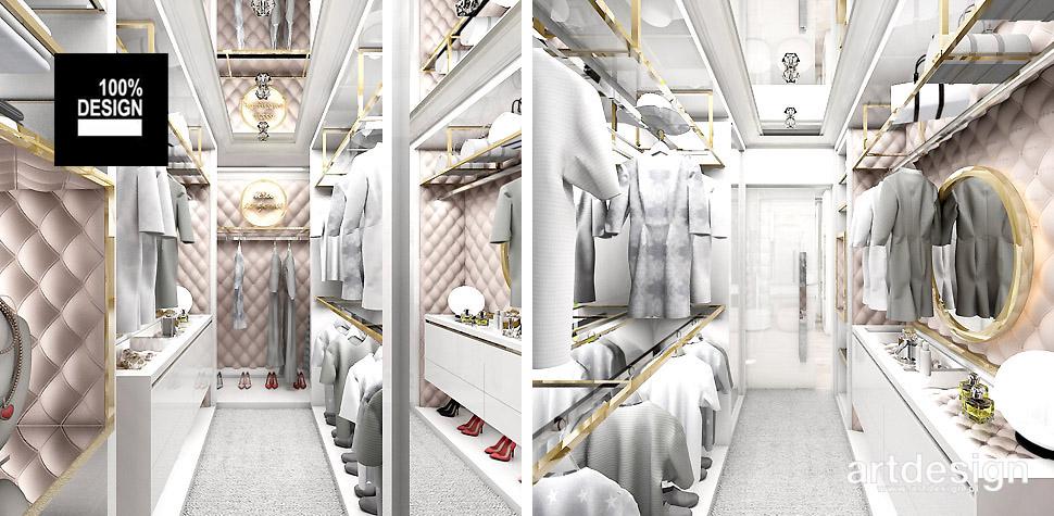 sypialnia z garderoba projekty wnętrz