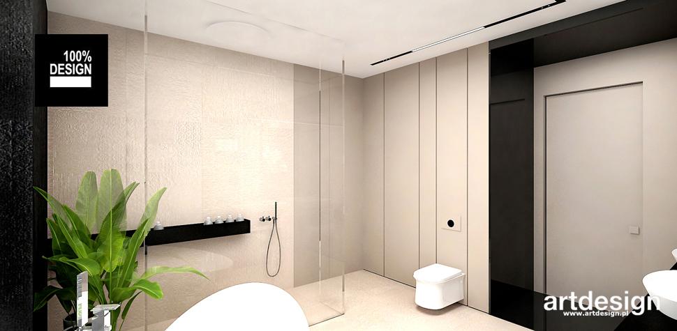 aranżacja nowoczesna łazienka
