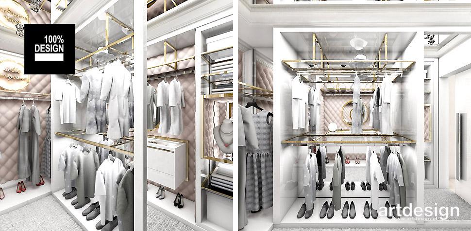 projektowanie wnętrz garderoby