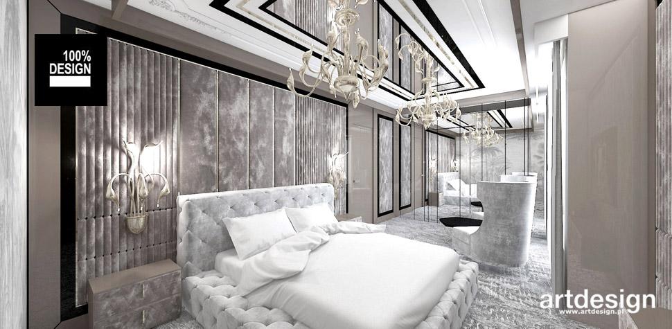 projekty wnętrz sypialnia