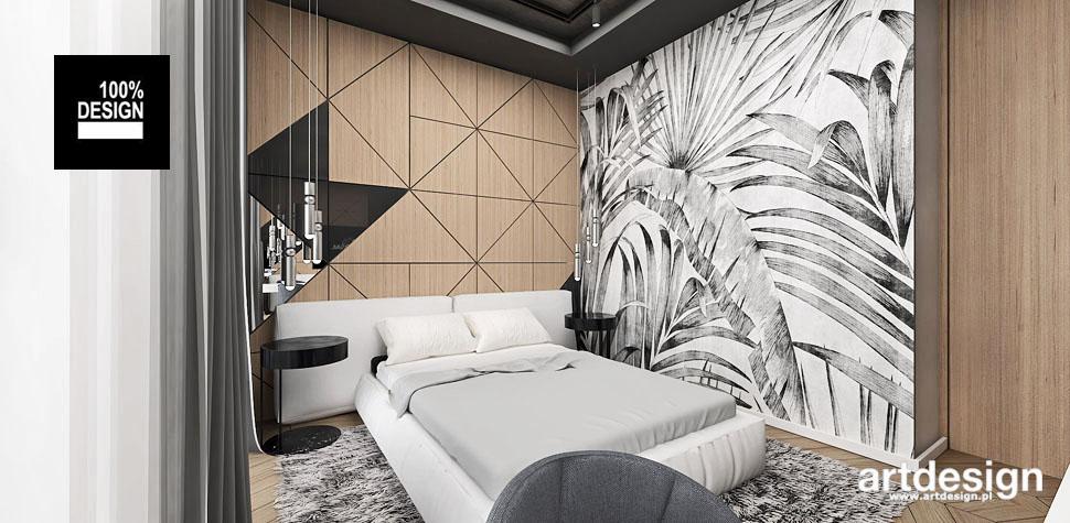 projekt wnętrza sypialnia