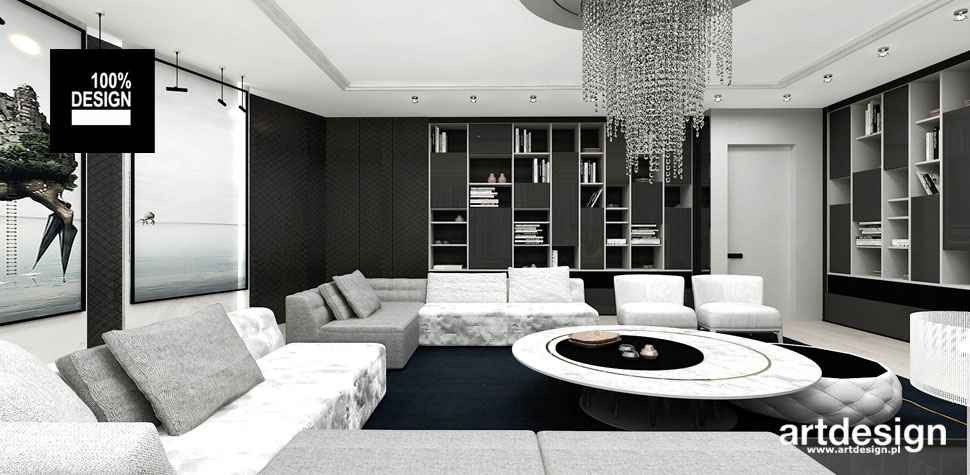 aranzacja przestrzeni salon rezydencja