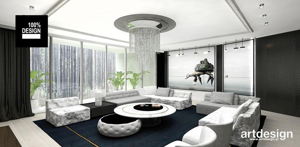 klasyczny elegancki salon