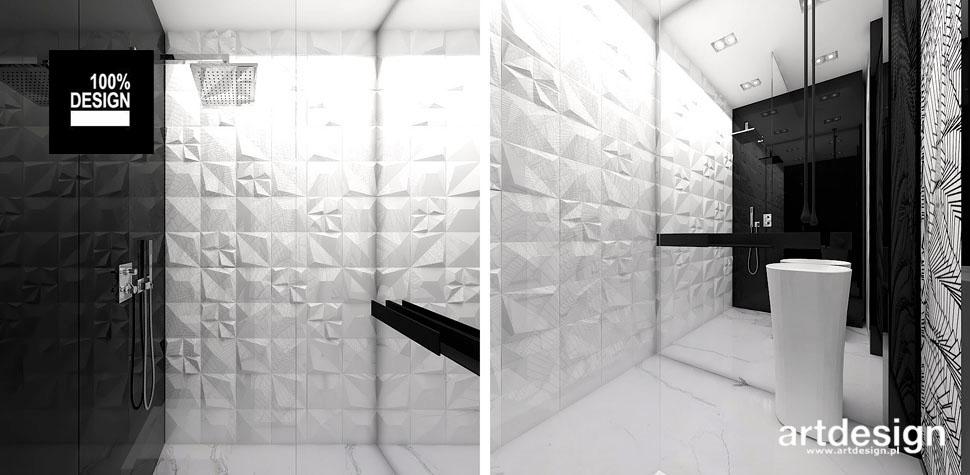 jasna łazienka nowoczesny styl