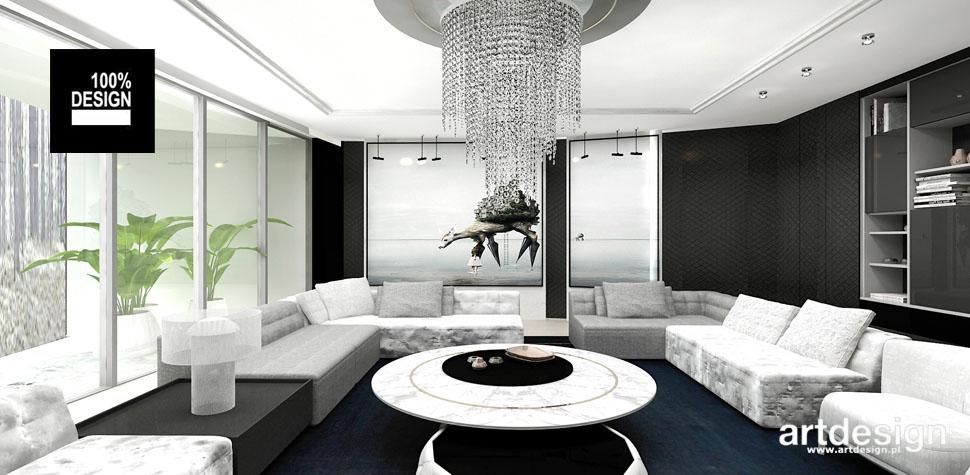 przestronne jasne wnętrze domu