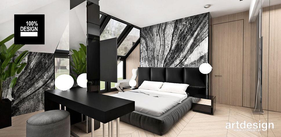 elegancka przestronna sypialnia