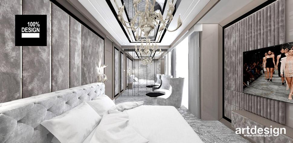 projekty sypialni dom wnetrza