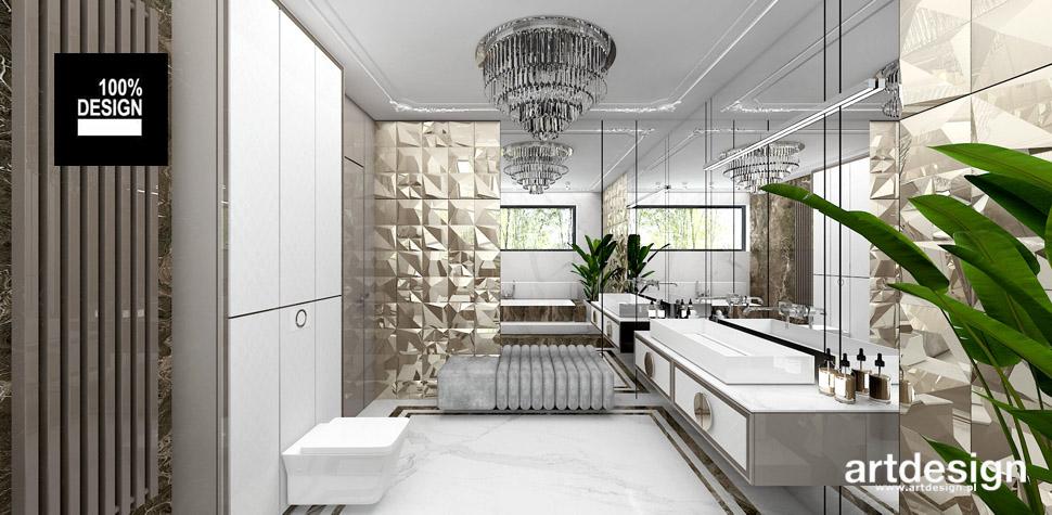 projekty wnętrz łazienek