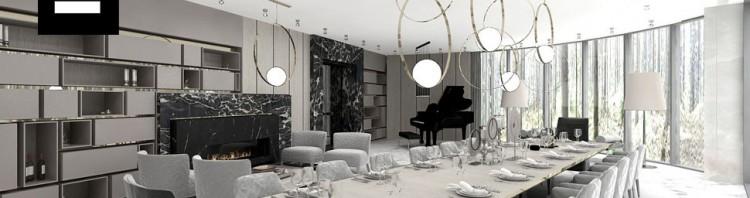 projekty wnętrz luksusowych domów