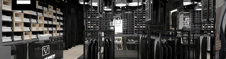 projekt wnętrza sklepu