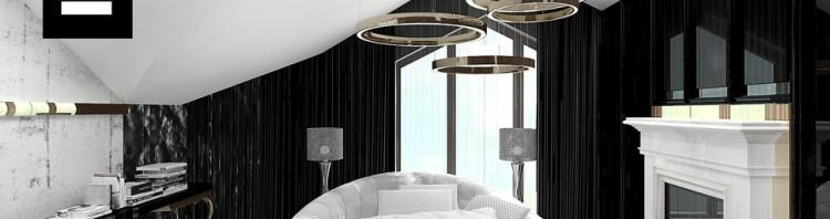 projekty sypialnia aranżacja