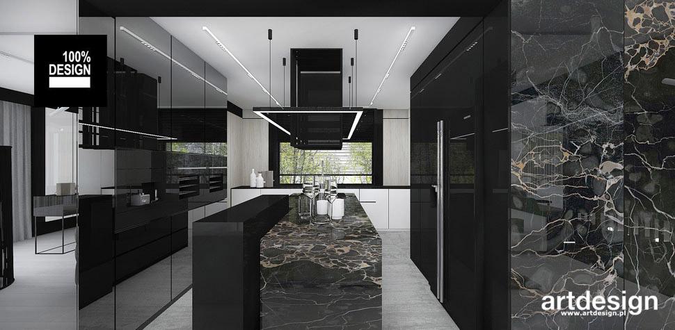 ergonomiczna kuchnia wnętrze